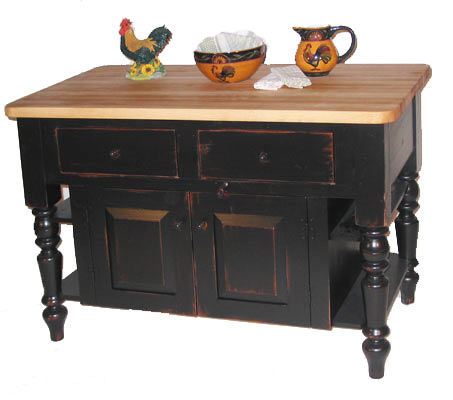 Country Furniture Kitchen Island